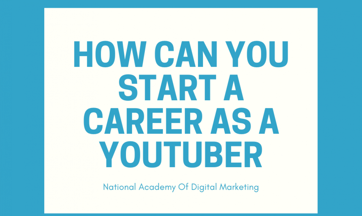 start career as a youtuber