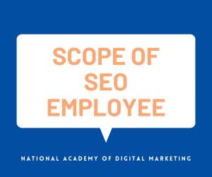 scope of seo employee