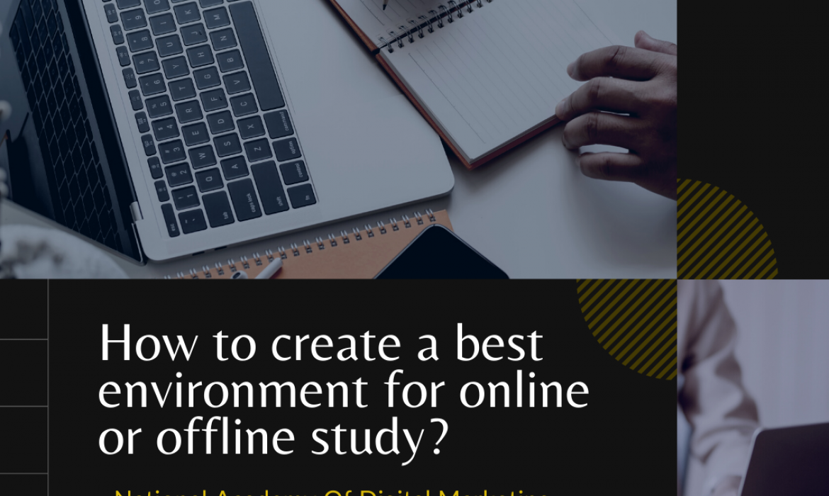 best environment to study online