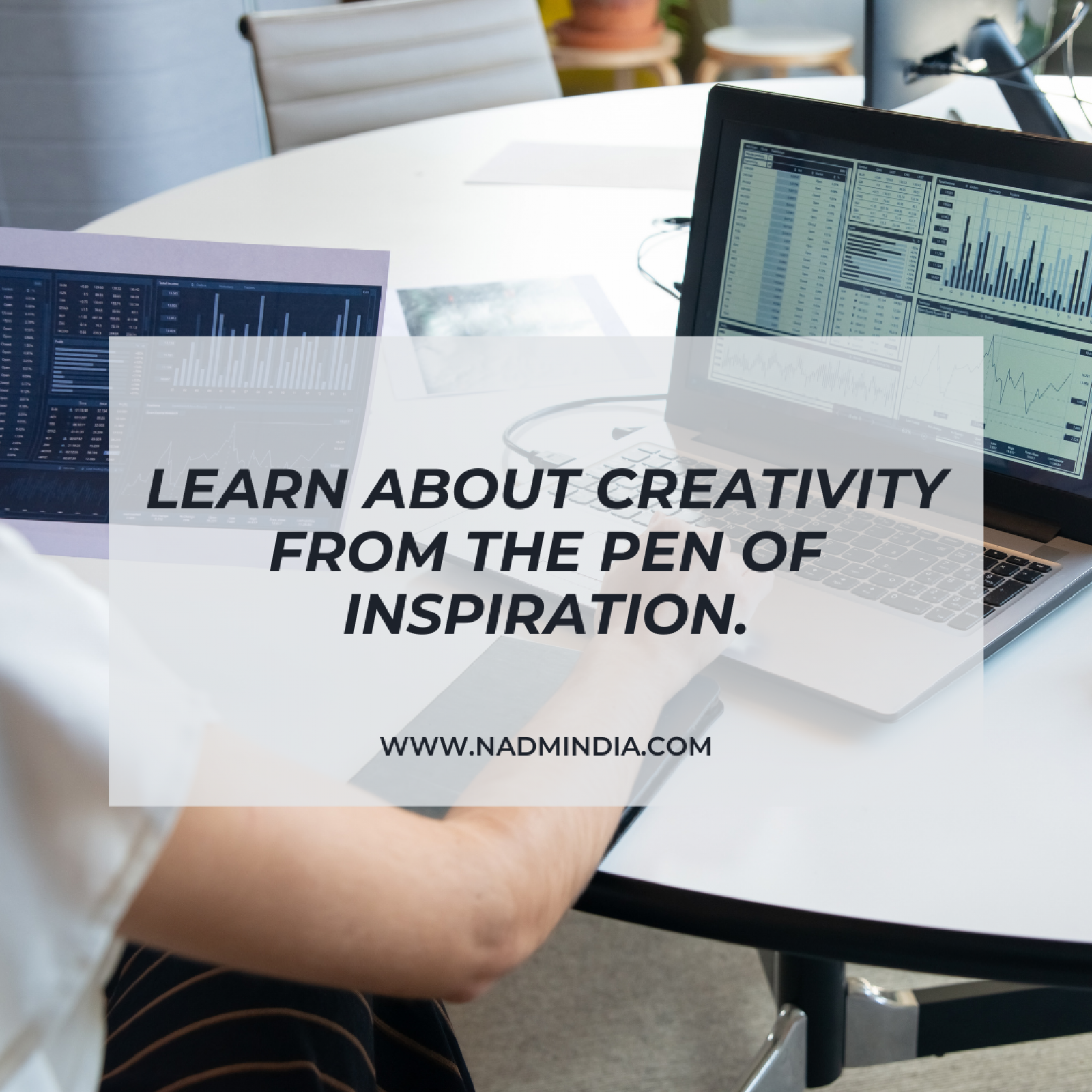 Learn about creativity from the pen of inspiration
